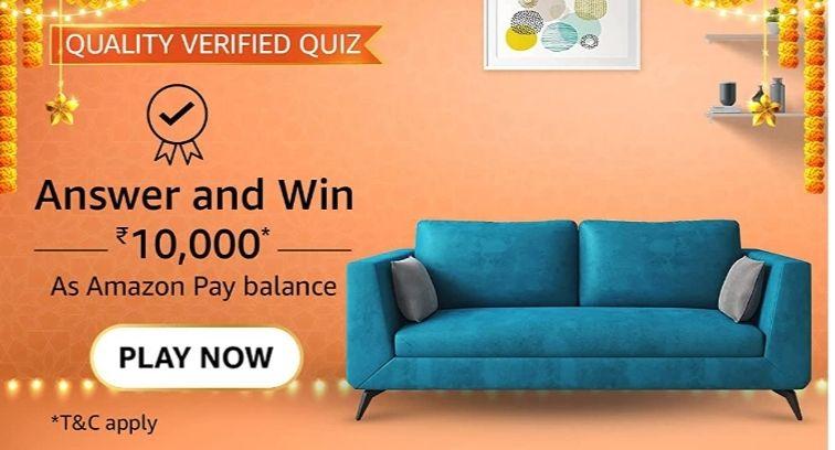 Amazon Quality Verified quiz answers