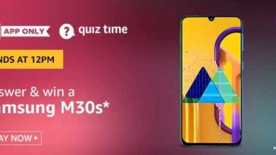 Photo of Amazon 23 Feb 2020 Quiz Answers – Play And Win A Samsung M30s Phone