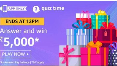 Amazon Quiz 2nd Dec 2019