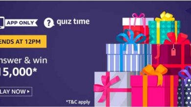 Photo of Amazon Quiz 28th November 2019 – Answers And Win 15000 Rs Pay Balance (3 Prizes)