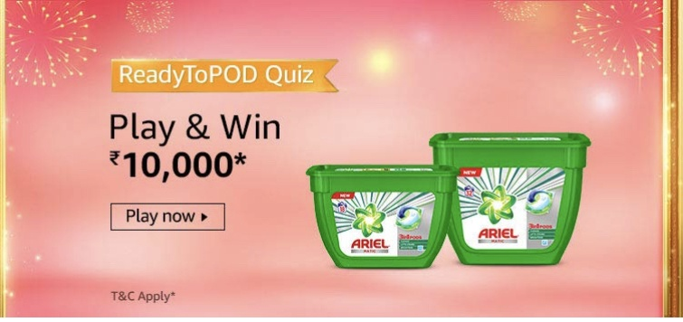Amazon Readytopod Quiz Answers 29 October Participate And Win Rs 10 000 Nagpur Oranges