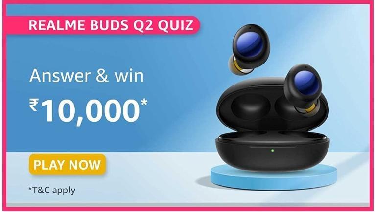 Amazon Realme Buds Q2 Quiz Answers
