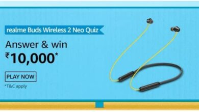 Amazon Realme Buds Wireless 2 Neo Quiz Answers