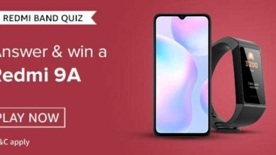 Photo of Amazon Redmi Band Quiz Answer: Participate And Win Redmi 9A (13 Winners)