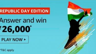 Photo of Amazon Republic Day Edition Quiz Answer – Play And Win Rs 26,000 Pay Balance
