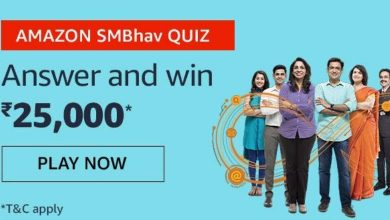 Amazon SMBhav Quiz Answers