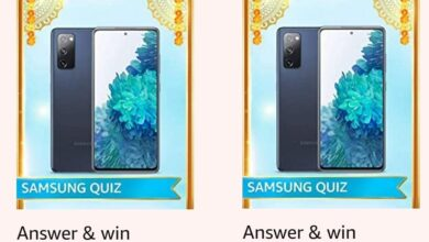 Amazon Samsung S20 FE Quiz Answers