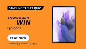 Amazon Samsung Tablets Quiz