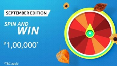 Amazon September Edition Spin And Win Quiz Answers