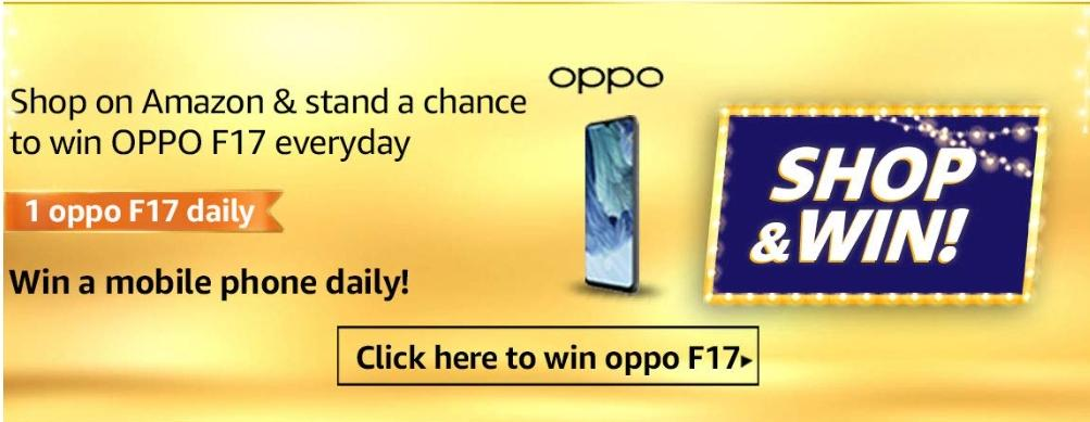 Amazon Shop and win quiz ans