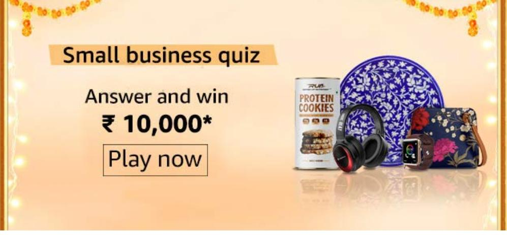 Amazon Small Business Quiz