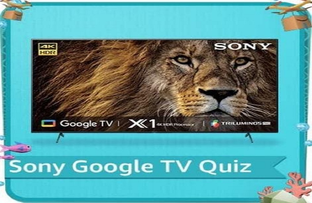 Amazon Sony Google TV Quiz Answers