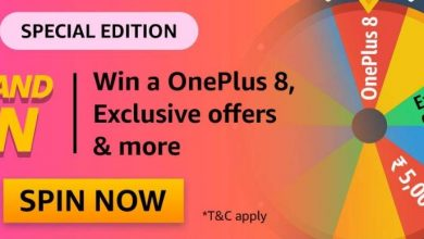Amazon Special Edition Quiz - Win One Plus 8 And Many More