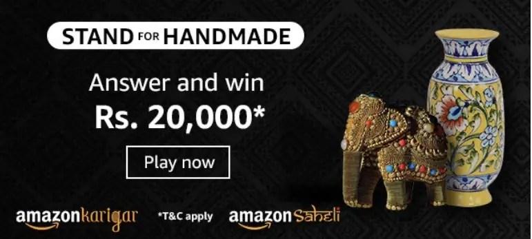 Amazon Stand For Handmade