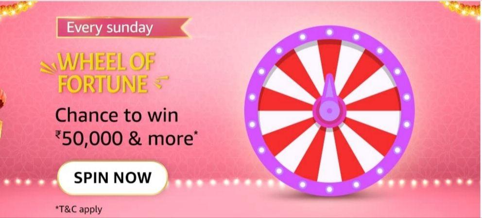 Amazon Sunday Wheel Of Fortune Quiz Answers