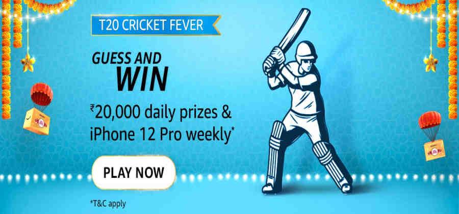 Amazon T20 Cricket Trivia Quiz Answers