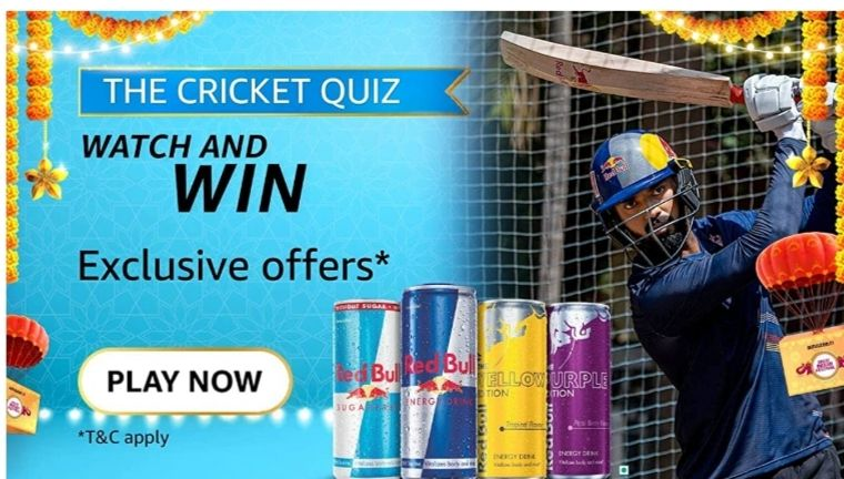 Amazon The Cricket Quiz Answers Win Exciting Prizes
