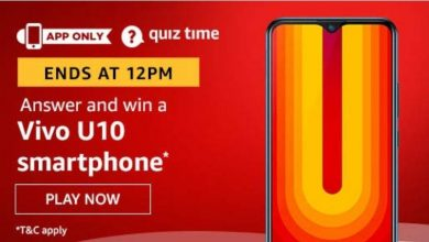 Photo of Play Amazon Quiz And Win Vivo U10 Smartphone – 29th December 2019