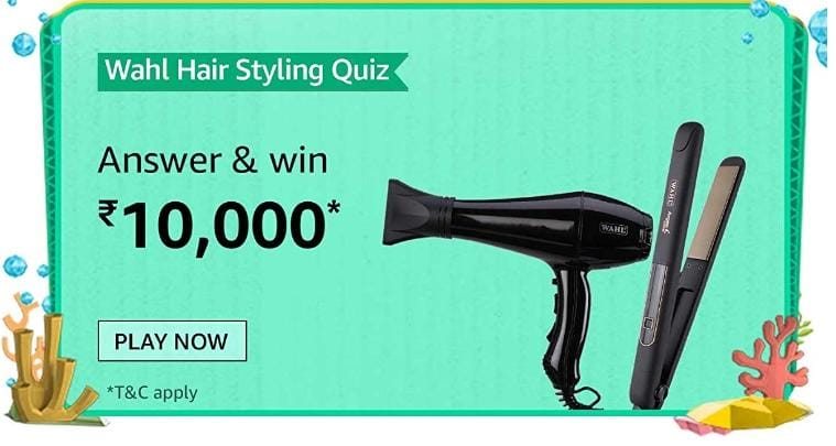 Amazon Wahl Hair Styling Quiz Answer