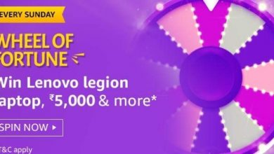 Photo of Play Amazon Wheel Of Fortune Quiz And Win Lenovo Legion Laptop, 5000Rs And More