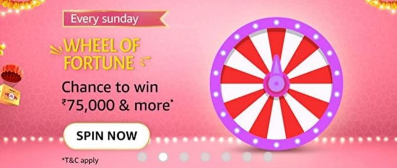 Amazon Wheel Of Fortune Spin And Win Quiz