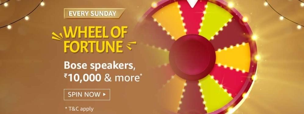 Amazon Wheel Of Fortune Sunday