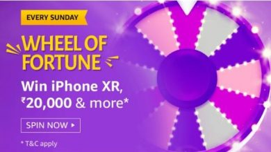 Photo of Amazon Sunday Special Wheel Of Fortune Quiz Answers: Play And Win iPhone XR, 20000Rs And More
