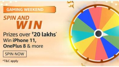 Amazon gaming weekend spin and win