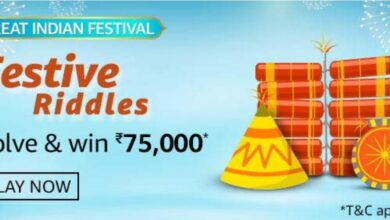 Amazon great indian festival riddles
