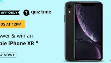 Photo of Amazon 1st July 2020 Quiz Answer : Play And Win Apple iPhone XR Mobile
