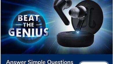 Beat The Genius Quiz Answers