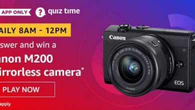 Photo of Amazon Quiz 10th March 2020 Answer – Play And Win Canon M200 Mirrorless Camera
