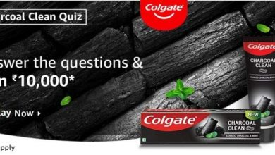 Photo of Amazon Colgate Charcoal Clean Quiz Answers: Play And Win 10,000 Rs Pay Balance