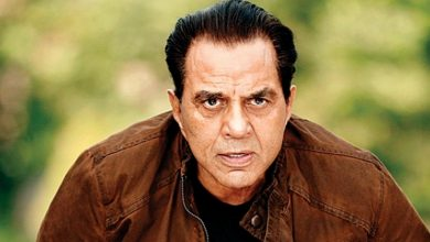 Photo of Dharmendra gearing up for a new project, shares video on Twitter