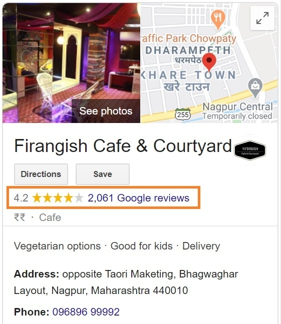 Firangish Cafe And Courtyard