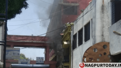 Fire At Jaripatka School Nagpur