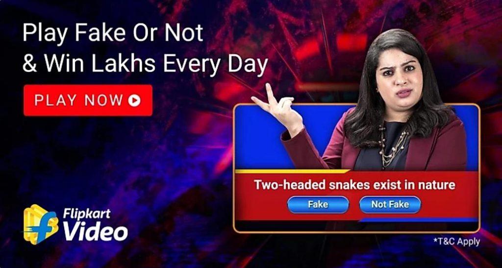 flipkart Fake Or Not Fake quiz Answers