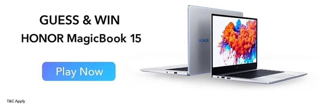 Flipkart Honor MagicBook 15 Quiz Answers