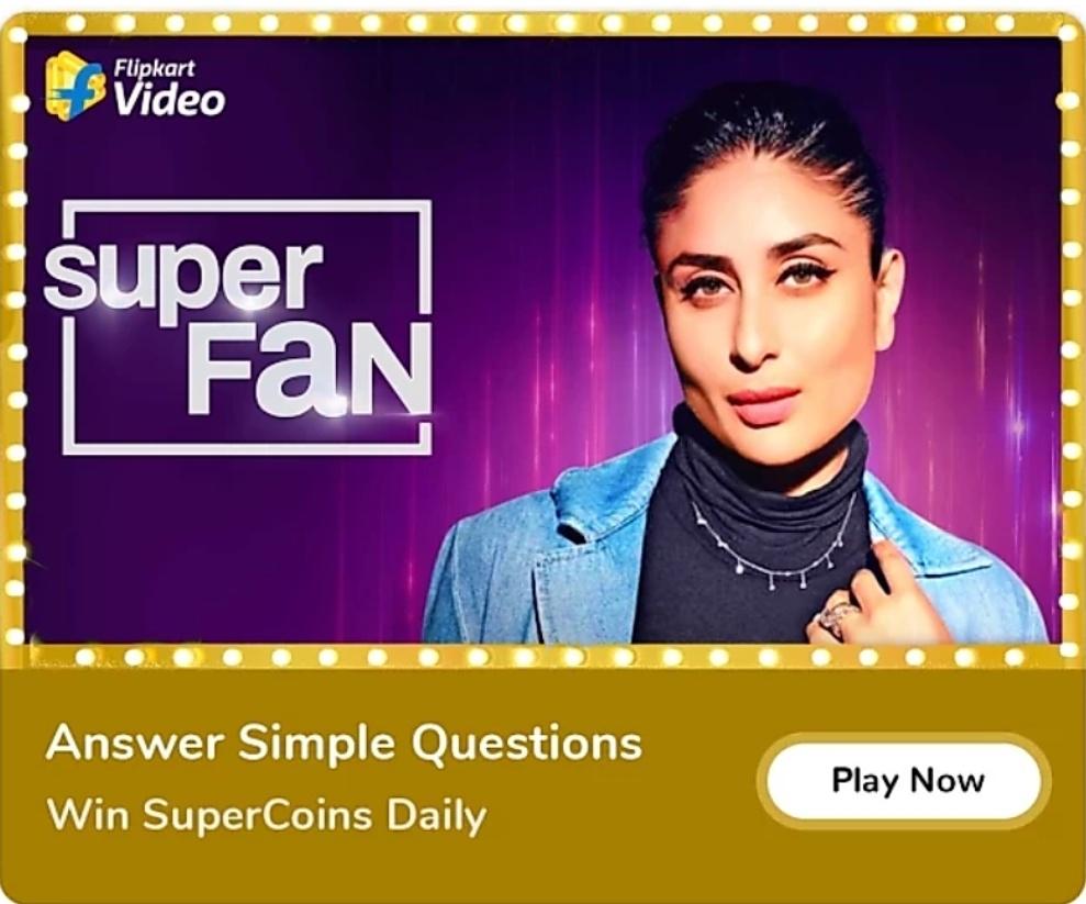 Flipkart Super Fan Quiz