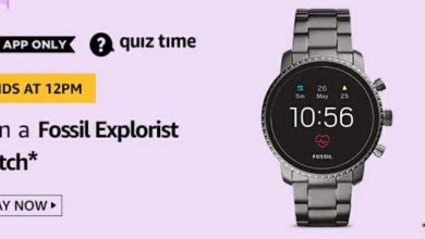 Fossil Explorist Watch