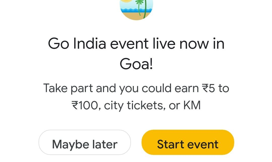 Google Pay Go India Game Goa City Event Quiz Answers