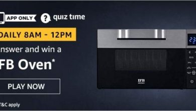 Photo of Amazon Quiz 23rd November 2019 – Answers And Win IFB Oven