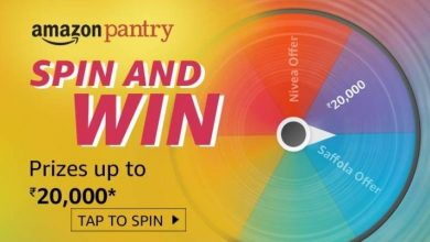Amazon Pantry Spin And Win Quiz