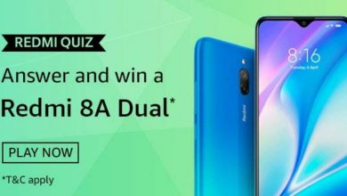 Amazon Redmi Quiz Answers