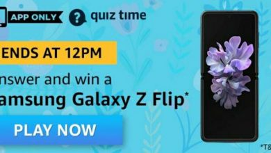 Photo of Amazon 1st April 2020 Quiz Answers: Play And Win Samsung Galaxy Z Flip
