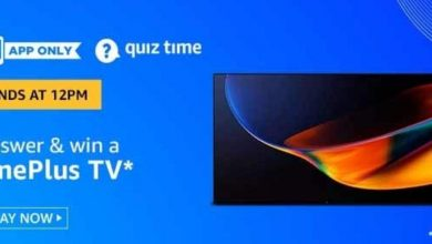 Photo of Amazon 27th Jun 2020 Quiz Answer : Play And Win OnePlus TV