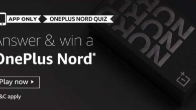 Amazon OnePlus Nord Quiz Answers