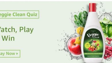 Photo of Amazon Veggie Clean Quiz: Answer The Question And Stand A Chance TO Win 10,000Rs