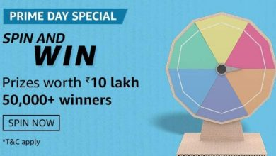 Photo of Amazon Prime Day Special Spin And Win Quiz Ans: Play And Prize Worth 10 lakh And 50,000 Winners
