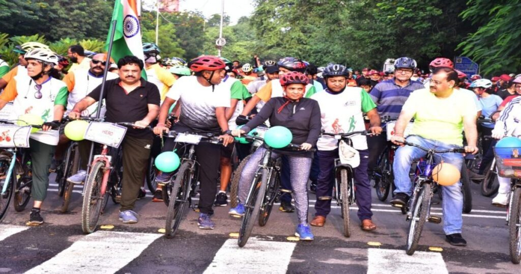 bicycle rally organized